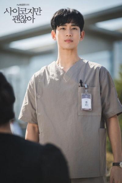 psycho3 キム・スヒョン、韓国ドラマ「サイコだけど大丈夫」の撮影写真が話題『軍隊に行ってきた顔なの?』